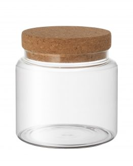 Glass Jar with Cork lid Small
