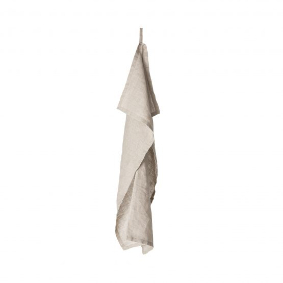 Kitchen Towel Linen Offwhite