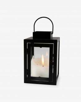 Lantern Metall Black Mini