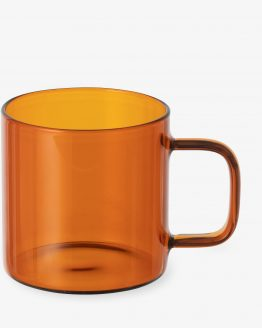 Mug Glass Amber 32cl