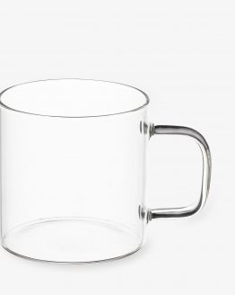 Mug Glass Clear 32cl