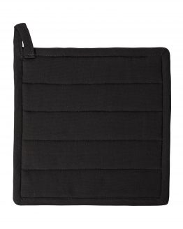 Potholder Organic Cotton Black