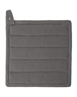 Potholder Organic Cotton Grey