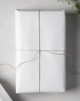 Wrapping Paper White