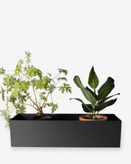 Balconyplanter 40cm Black