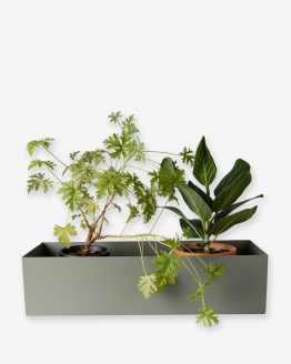 Balconyplanter 40cm Green