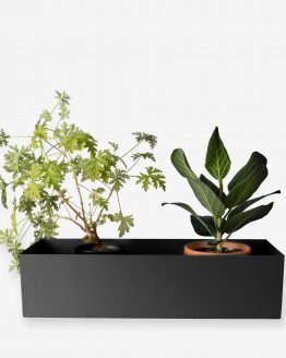 Balconyplanter 60cm Black