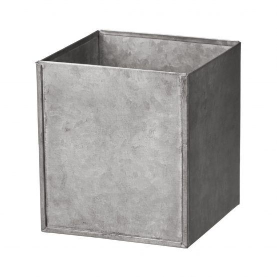 Box Zinc Square Small
