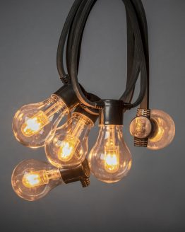 String Light 10 Bulbs Replaceable