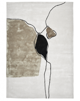 Abstract Ivory Matto 170 x 230 cm