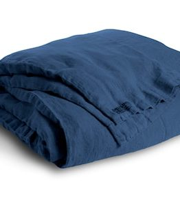 Lovely Linen Pussilakana – Denim blue