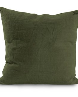 Lovely Linen Tyynyliina – Jeep green